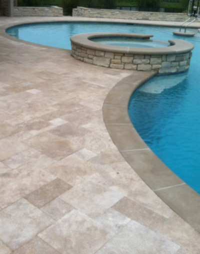 Pool deck repair pool maintenance pool repair saltwater for Swimming pool conversion